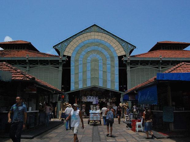 Mercado de São José (Foto: Luna Markman/ G1)