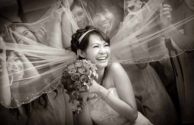 Competição premia fotos de casamento originais (Foto:  Louis Loo)