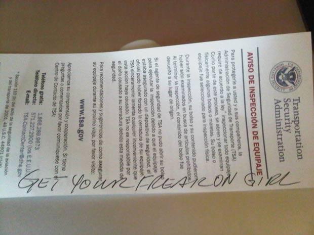 Jill publicou uma foto do formulário em seu Twitter. (Foto: Reprodução)