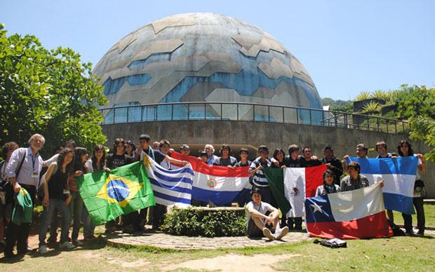 Estudantes de oito países participam da Olimpíada Latino-Americana de Astronomia (Foto: Divulgação)