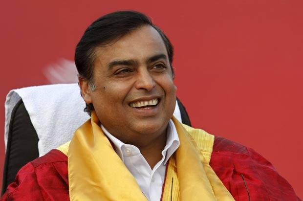 Mukesh Ambani desistiu de se mudar para a nova casa por influência do Vastu Shastra. (Foto: Amit Dave/Reuters)