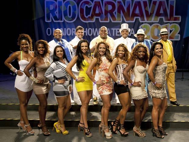 Disputa de Rei Momo e Rainha do Carnaval carioca será na sexta-feira (28), na Cidade do Samba (Foto: Divulgação/ Fernando Maia)