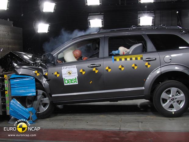 Fiat Freemont recebe 5 estrelas do EuroNCAP (Foto: Divulgação)
