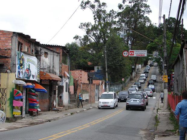 Ladeirão Morumbi  (Foto: Carolina Iskandarian/ G1)