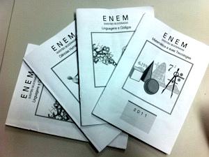 Alunos de escola com questões do Enem dizem ser 'injusto' repetir prova (Foto: Diana Vasconcelos/G1 Ceará)