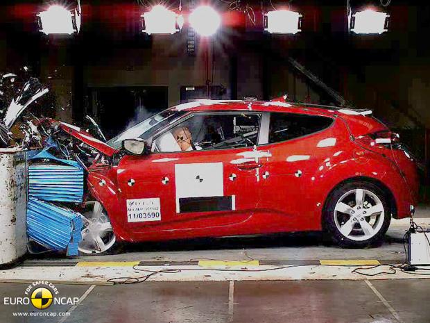 Hyundai Veloster tem nota máxima em segurança (Foto: Divulgação)