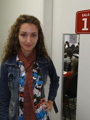 Carolina Cunha acha que a prova tem muita 'decoreba' (Foto: Alex Araújo/G1)
