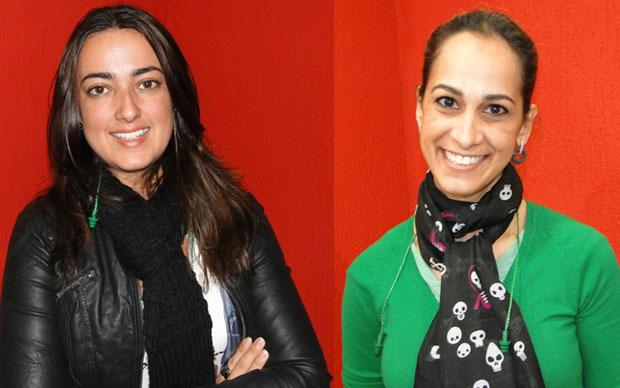 Bárbara Ribeiro Gomes e Tatiana Goulart estão se preparando para o Exame da OAB no domingo (Foto: Alex Araújo/G1)