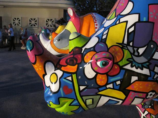 Rinoceronte (Foto: Paulo Piza/ G1)