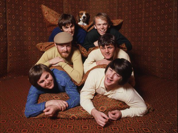 Os Beach Boys, que lançam o disco 'Smile', com material gravado em 1966 e 1967 (Foto: Divulgação)