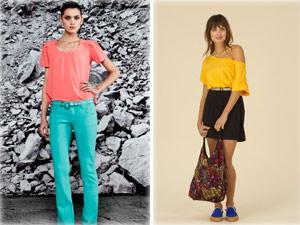 Mistura de cores quentes e fortes é tendência para o verão (Foto: Divulgação/ Spezzato/Redley)