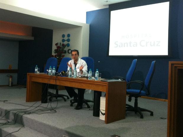 Médico (Foto: Vinicius Sgarbe/G1)