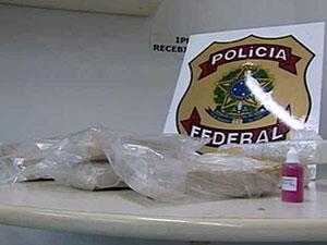 Pasta base de cocaína (Foto: Reprodução/Globo Nordeste)
