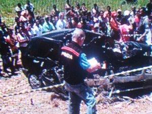 Colisão frontam deixa três mortos na PB-008 (Foto: Reprodução/TV Cabo Branco)