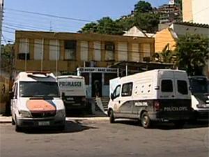 Polinter do Grajaú (Foto: Reprodução/TV Globo)