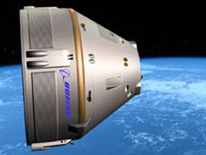 Imagem mostra como seria o transportador da Boeing. (Foto: Nasa)