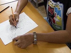 Para investir na carreira é preciso ter mais que habilidade para desenhar (Foto: Reprodução TV Integração)