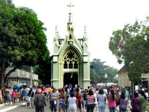 Cemitério São João Batista, bairro Adrianópolis, Zona Centro-Sul de Manaus (Foto: Divulgação/Semcom)