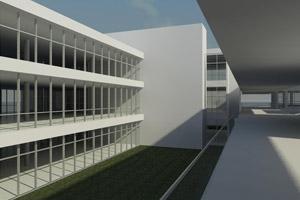 Maquete de complexo a ser construído pela ONU em Brasília (Foto: Divulgação)