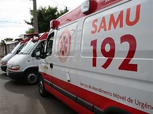 Ambulâncias do Samu em João Pessoa (PB) (Foto: Divulgação/PMJP)
