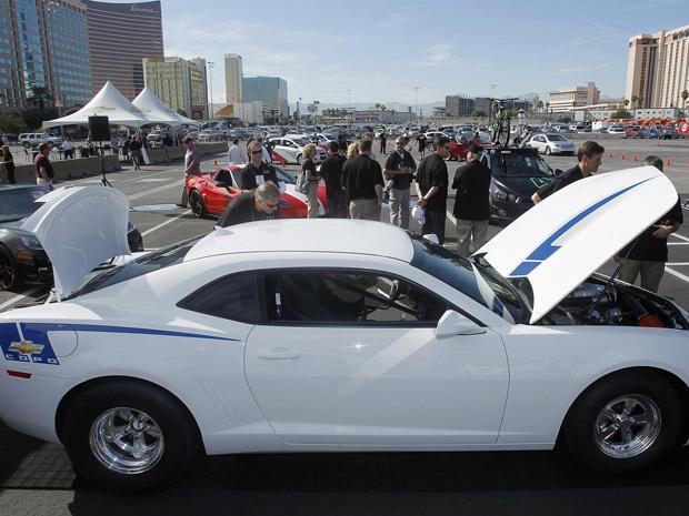 Camaro tunado (Foto: Reuters/Chevrolet/Isaac Brekken/Handout )