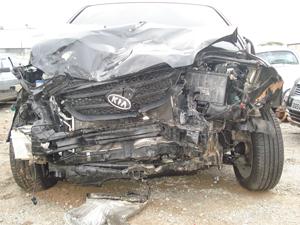 Carro acidentado 2 (Foto: Divulgação Arquivo pessoal)