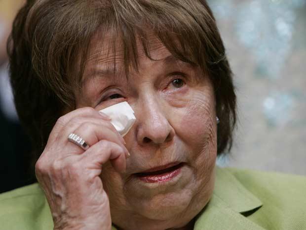 Dorothy Rodham em foto de 7 de junho de 2008 (Foto: AFP)