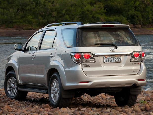Novo Toyota SW4 parte de R$ 157 mil (Foto: Divulgação)