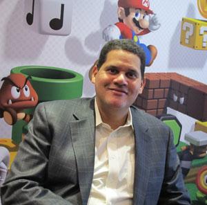 Reggie Fils-Aime, presidente da Nintendo of America, em visita pela primeira vez ao Brasil (Foto: Gustavo Petró/G1)