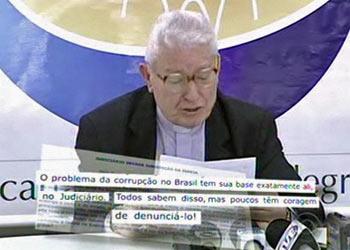 """Arcebispo de Porto Alegre afirma que valor de indenização """"ultrapassa qualquer bom senso"""" (Foto: Reprodução/RBS TV)"""