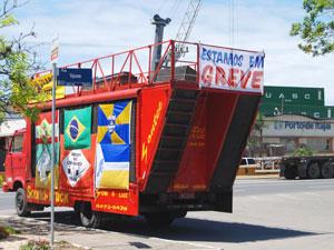 Greve porto (Foto: Ronaldo Silva/Superintendência Porto de Itajaí/Divulgação)