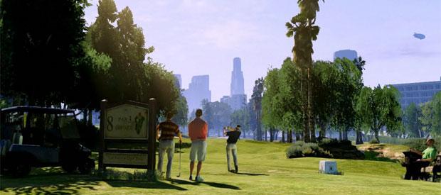 Cena de 'GTA V' (Foto: Reprodução)