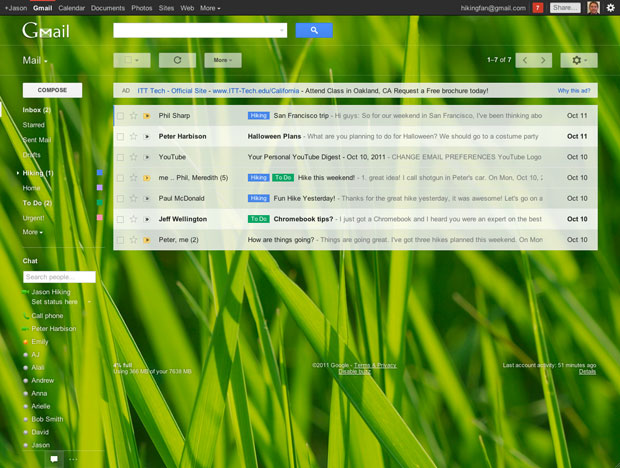 Google mosra a nova interface do Gmail (Foto: Divulgação)