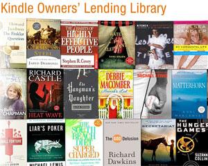 Novo programa da Amazon permitirá aos usuários de Kindle ler livros gratuitamente (Foto: Reprodução)