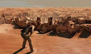 'Uncharted 3' é um dos games com melhor qualidade visual do PS3 (Foto: Divulgação)