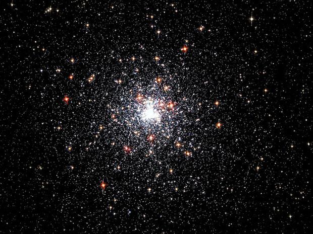 Pulsar J1823-3021A, a 27 mil anos-luz da Terra (Foto: Nasa/ESA/I. King)