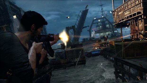 Os tiroteios estão bons como nos games anteriores, mas o sistema de coice das armas mudou, causando confusão (Foto: Divulgação)