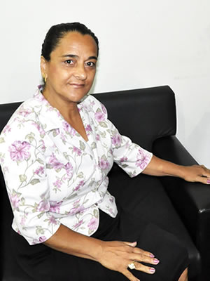 Irmã do ex-presidente Lula (Foto: Pollyana Araújo/G1)