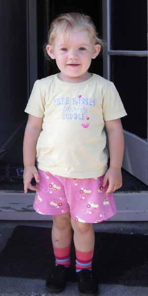 A menina Shylah Silbery (Foto: AP)