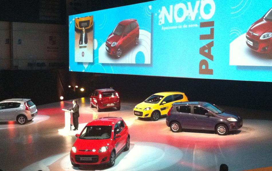 Fiat lança o Palio feito em nova plataforma, com motores 1.0, 1.4 e 1.6