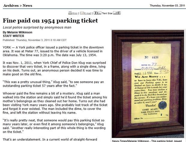 Homem levou multa em modura. (Foto: Reprodução)