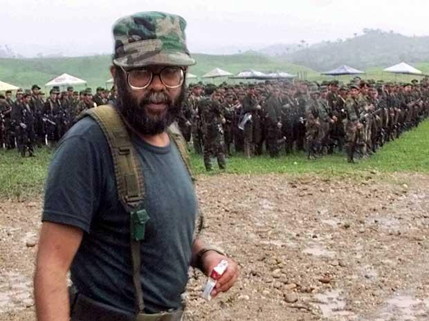 Alfonso Cano, em foto de arquivo de 2000. (Foto: Scott Dalton / Arquivo / AP Photole)