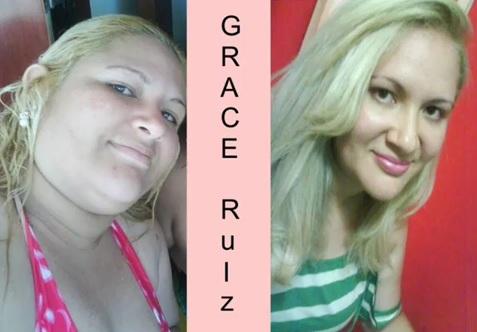 Grace Ruiz emagreceu 42kg em oito meses. (Foto: Reprodução/Grace Ruiz)