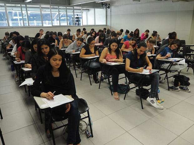Candidatos usam Unesp como plano B (Foto: Flávio Moraes/G1)