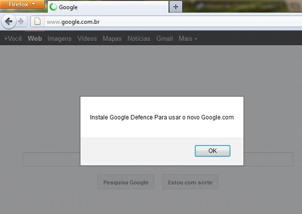 Sites redirecionados do Google oferecem software malicioso para usuários (Foto: Reprodução/Kaspersky Lab)