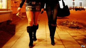 Prostitutas na Lituânia (Foto: PA)