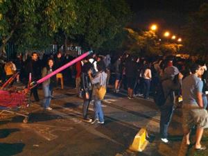 alunos usp (Foto: Paulo Toledo Piza/G1)