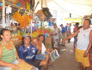 belem mercado municipal (Foto: Tahiane Stochero/G1)