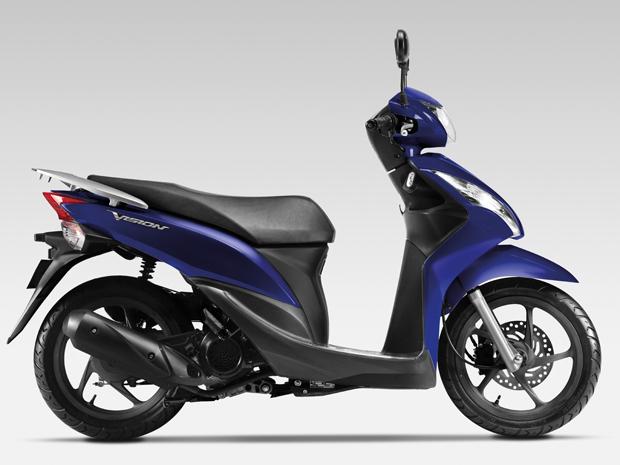 Vision 50 é o novo scooter de entrada da Honda (Foto: Divulgação)