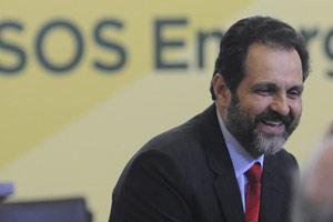 O governador do DF, Agnelo Queiroz, durante evento no Palácio do Planalto nesta terça (8) (Foto: Agência Brasil)